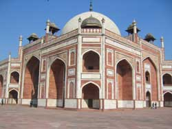 Humayun Tomb - South-West Face (Upper level)