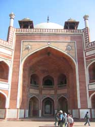 Humayun Tomb - West Face (Detail)