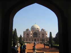 Humayun Tomb from West Gate