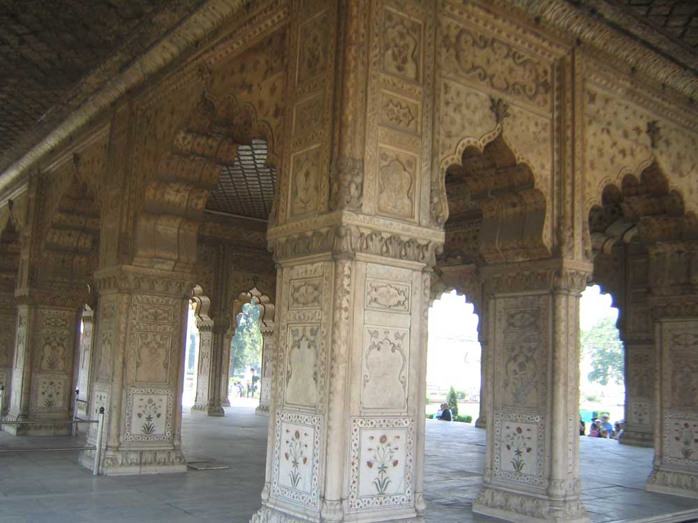 red fort stone