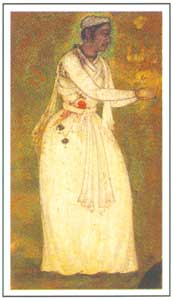 Mughal Miniature - Kalawant Tansen, circa 1590 AD, National Museum, New Delhi