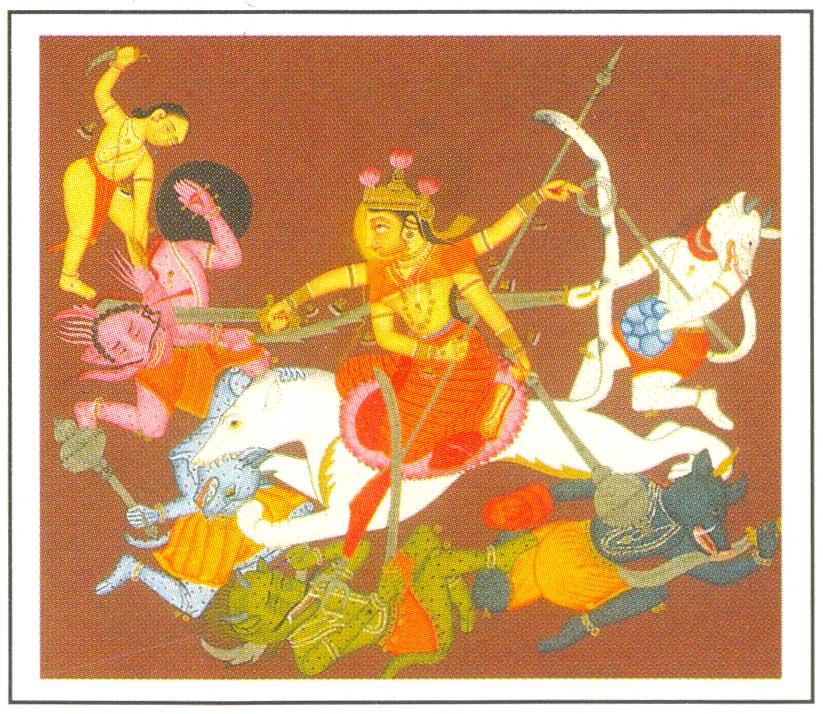 essay on goddess durga