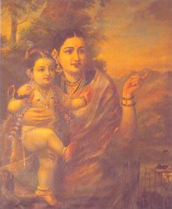 Raja Ravi Varma (1848 - 1906) - Maharani Prince, H.H. The Maharaja of Travancore, Kaudiar Palace, Thiruvananthapuram