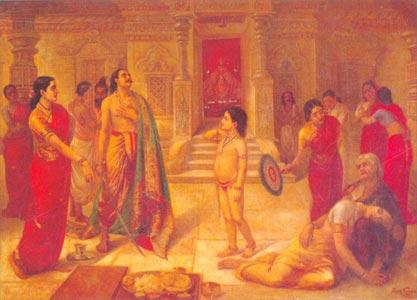Raja Ravi Varma (1848 - 1906) - Mohini Rugmagada, Sri Chitra Art Gallery, Thiruvananthapuram