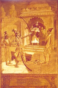 Raja Ravi Varma (1848 - 1906) - Sri Rama breaks the Bow, Sri Chitra Art Gallery, Thiruvananthapuram