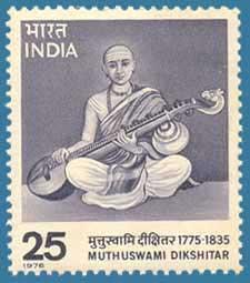 SG # 803 (1976), Muthuswami Dikshitar