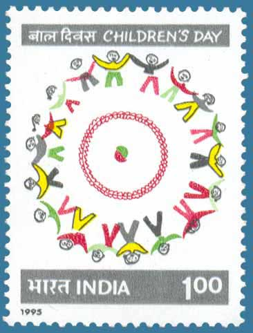 Children 's Day Stamps of India - Thematic